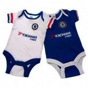 chelsea merchandise - bodystocking til baby - 9-12 mdr - Merchandise