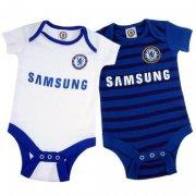 chelsea merchandise heldragt baby - 2 stk - 6-9 mdr - Merchandise