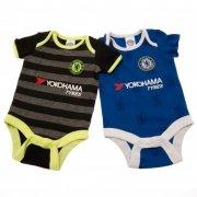 chelsea merchandise - bodystocking til baby - 0-3 mdr - Merchandise