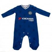 chelsea merchandise - nattøj / natdragt til baby - 6-9 mdr - Merchandise