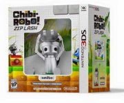 chibi-robo!: zip lash + amiibo bundle - nintendo 3ds