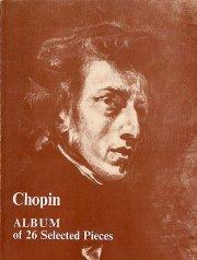 chopin album of 26 selected pieces - bog