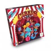 cirkus topito - brætspil - nordisk - Brætspil