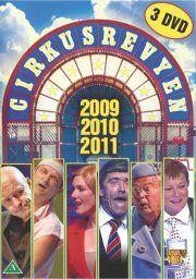 cirkusrevyen 2009 + 2010 + 2011 - DVD