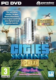 cities: skylines gold edition (includes after dark dlc) - PC