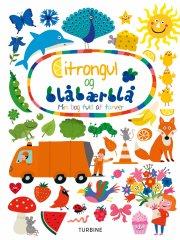 citrongul og blåbærblå - bog