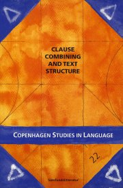 clause combining and text structure - bog