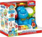 aktivitetslegetøj til børn - musikalsk elefant - Babylegetøj
