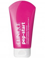 clinique pep-start 2-in-1 exfoliating cleanser - 125 ml - Hudpleje