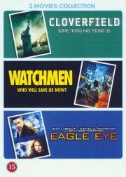 cloverfield / watchmen / eagle eye - DVD