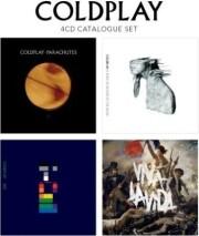 coldplay - parachutes / rush of blood to the head / x and y / viva la vida - cd