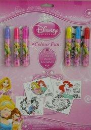 colour fun - disney prinsesser malebog og tusser - Kreativitet