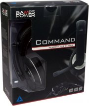 games power command gaming / gamer headset - Gaming