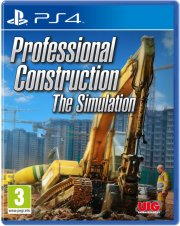 professional construction the simulation - PS4