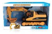 contruck - gravemaskine legetøj på larvefødder 39 cm. - Køretøjer Og Fly