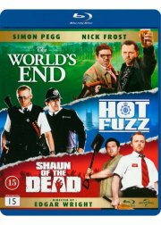 the worlds end // hot fuzz // shaun of the dead - Blu-Ray