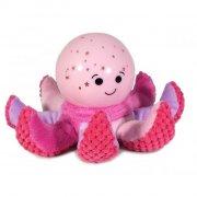 cloud b natlampe baby - octo softeez - pink - Til Boligen