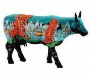 cow parade ko - ruinas de atlantida - stor - 30x19cm - Til Boligen