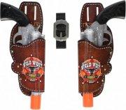 cowboy legetøjspistoler - 28 cm - Legetøjsvåben