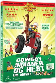 cowboy indianer og hest - the movie - DVD
