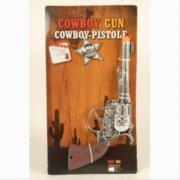 cowboy sæt - pistol og sherifstjerne - Legetøjsvåben