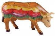 cow parade ko - moovin veggie burger - mellem - 15,5 x 10cm - Til Boligen
