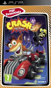 crash tag team racing essentials - psp