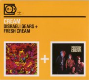 cream - 2 for 1: disreali gears / fresh cream [dobbelt-cd] - cd