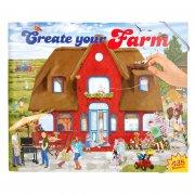 create your funny farm - aktivitetsbog med stickers - Kreativitet