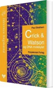 crick & watson og dna-molekylet - bog