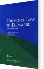 criminal law denmark - bog