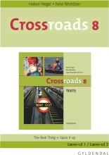 crossroads 8 lærer-cd - bog