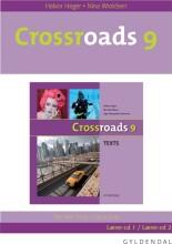 crossroads 9 lærer-cd - bog