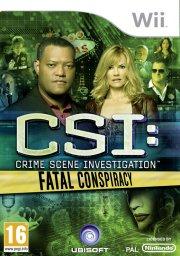 csi: crime scene investigation - fatal conspiracy - wii