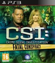 csi: crime scene investigation - fatal conspiracy - PS3