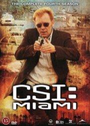 c.s.i. miami - sæson 4 - DVD