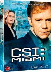c.s.i. miami - sæson 5 - DVD