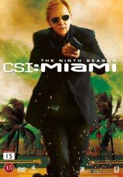 csi - miami - sæson 9 - DVD