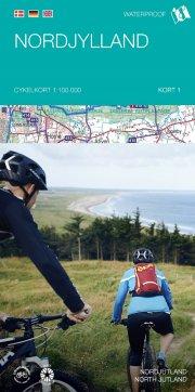 cykelkortserie danmark 1: nordjylland - bog