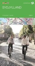 cykelkortserie danmark 3: sydjylland - bog