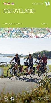 cykelkortserie danmark 4: østjylland - bog