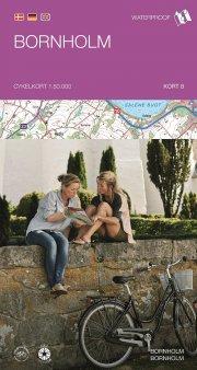 cykelkortserie danmark 8: bornholm - bog