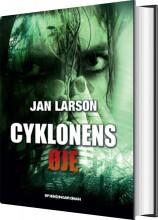 cyklonens øje - bog
