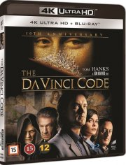 da vinci mysteriet / the da vinci code - 4k Ultra HD Blu-Ray