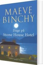 dage på stone house hotel - bog
