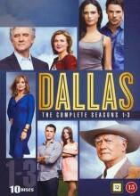 dallas box - komplette - sæson 1-3 - DVD