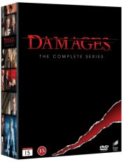 damages - complete box - sæson 1-5 - DVD