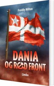 dania og rød front - bog