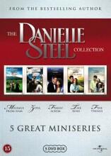 danielle steel samling - 5 miniserier - DVD