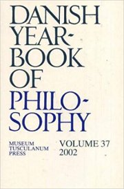 danish yearbook of philosophy - bog